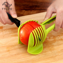 TTLIFE Fruit and Vegetable Round Slices Lemon Tomato Slicer Kitchen Cooking Device Creative Tools