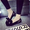 Pisos individuales para mujer Inferior Suave zapatillas de Ballet con el Arco de Las Mujeres zapatos de las muchachas Mocasines Slip on recortes doug Mocasines de Conducción zapatos