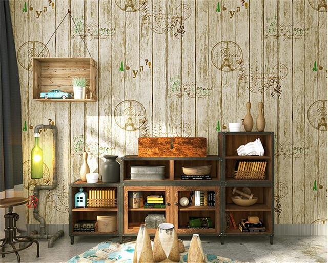 Online shop beibehang american village retro nostalgic wallpaper