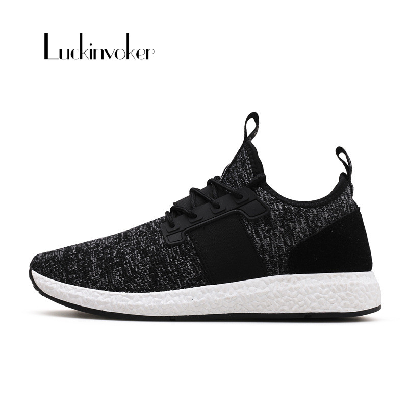 Running Shoes Light Sneakers Breathable Lace-Up Men Sneakers 39-44 Athletic Jogging Walking Shoes Wear-Resisting Mens Sneakers