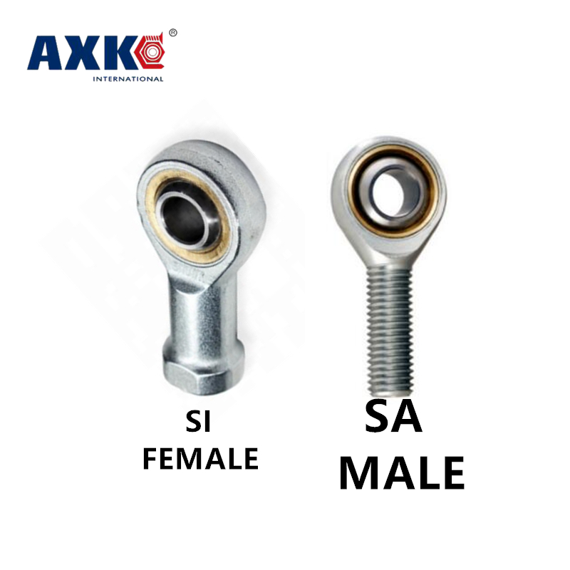 SI5 6 8 10 12 14 16 18 20 22 25 TK metric male left, female right hand thread rod end Joint bearing image