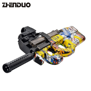 Free Shipping P90 Electric Toy Gun Soft Water Bullet Bursts Live CS Assault Snipe Weapon Outdoors Toys For Christmas Gift