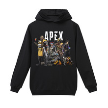 Spring and autumn children cartoon apex legends Minecraft family game cotton long-sleeved T-shirt sweater boy and girl clothing 2018 minecraft pants long sleeve suit boy clothing jacket spring and autumn hooded sweater suit children s t shirt 6 14y