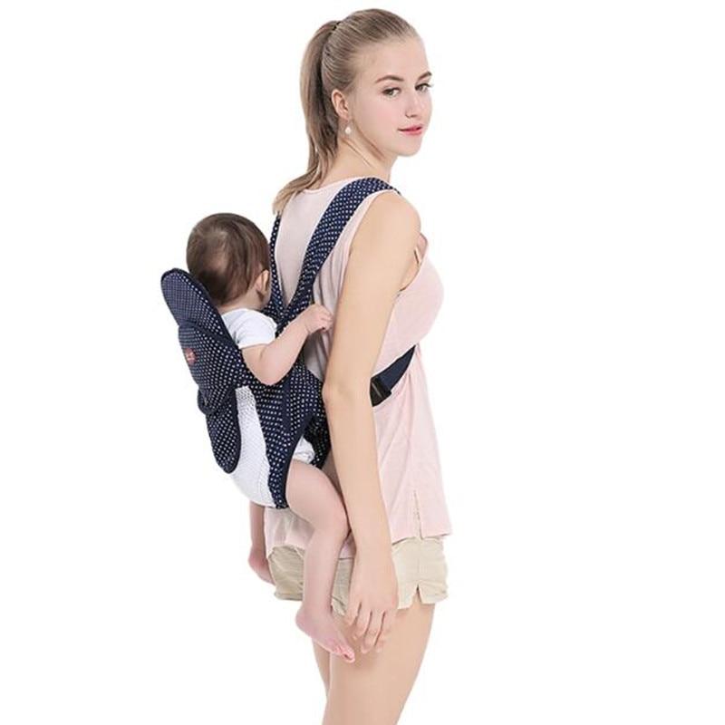 Meilleur bébé 6 en 1 bébé sac à dos porte bébé ergonomique fronde Respirant  Avant kangourou ... de7fa4e9314