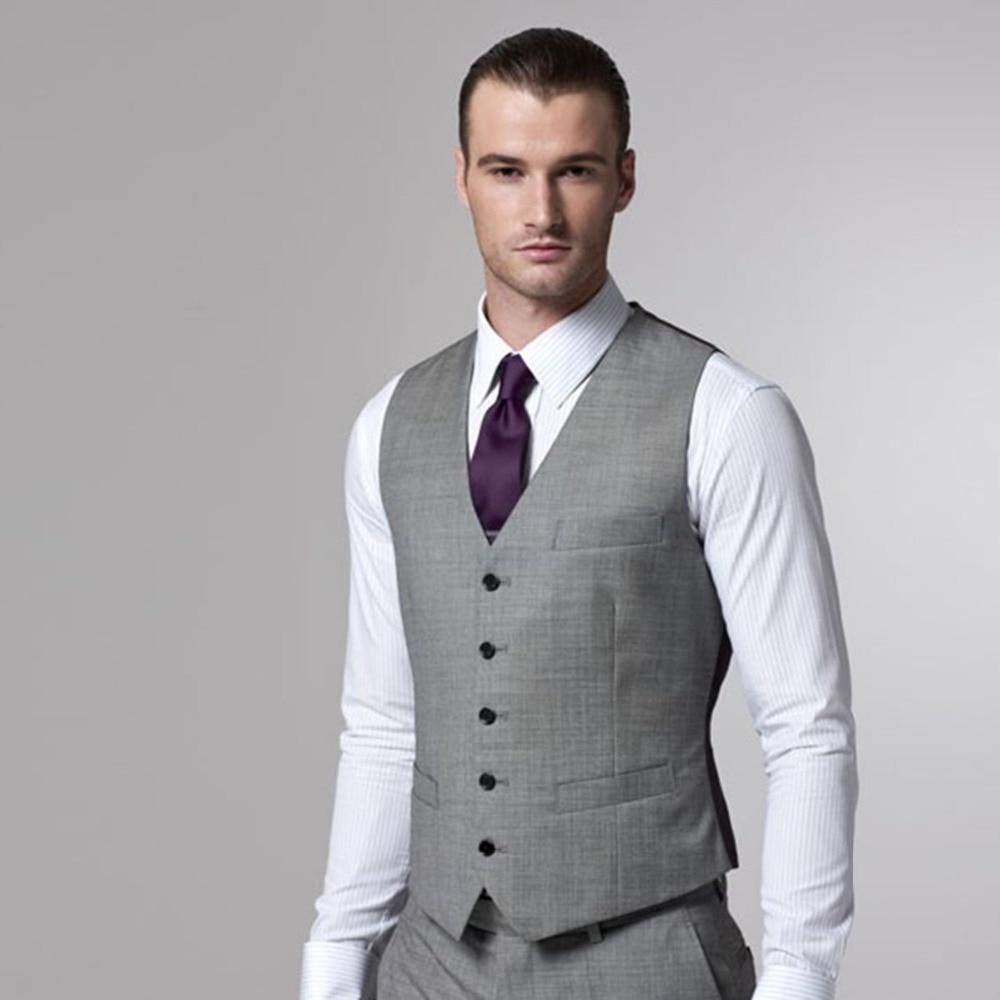 Vest Men With Pants Custom Made Dress Vests For Men 2019 Tailored Groom Wedding Waistcoat And Pants