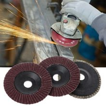 OOTDTY Abrasive 100mm Polishing Grinding Wheel Quick Change Sanding Flap Disc For Grit Angle Grinder 80