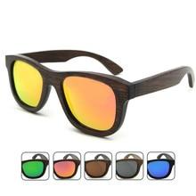 2017 Unisex Retro Hd TAC Polarized Bamboo Wooden Sunglasses Free Shipping
