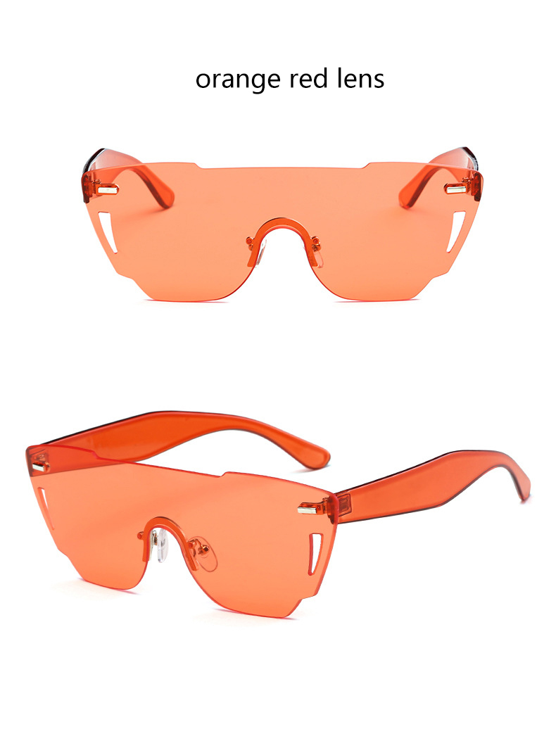 HTB12bR2RXXXXXcJXXXXq6xXFXXXD - Candy Color Sunglasses Flat Top Rimless Sunglasses