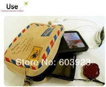 New Fashion envelope style camera bag / portable phone & cosmetic Multi-function/Gift/Wholesale