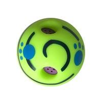 15 cm Pet Cani Gatti Che Giocano Sfera Wobble Wag Giggle Sfera Sicuro Palla di formazione Con Divertente Suono Molto Divertente Regalo Del Giocattolo Per Animali Domestici cane