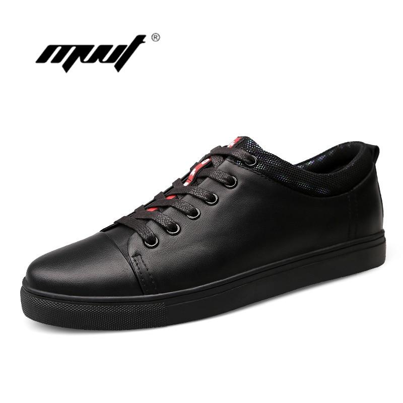 Marca Genuíno Qualidade Shoes outono Homens Primavera Preto Alta Para Flats Casuais Black Oxfords De Sapatos Couro ACTnBdqw