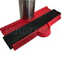 """250 мм 1"""" /120 мм 5"""" Ширина пластикового профиля копия контурного датчика Дубликатор стандартная деревянная маркировка плитка ламинат 'инструменты"""