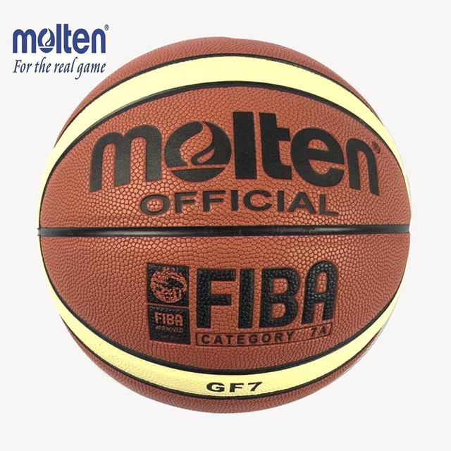 Quality Size 7 New Molten GF7 PU Leather Basketball Indoor Outdoor Ballon De Basketball Training Equipment Free Net Bag Pin