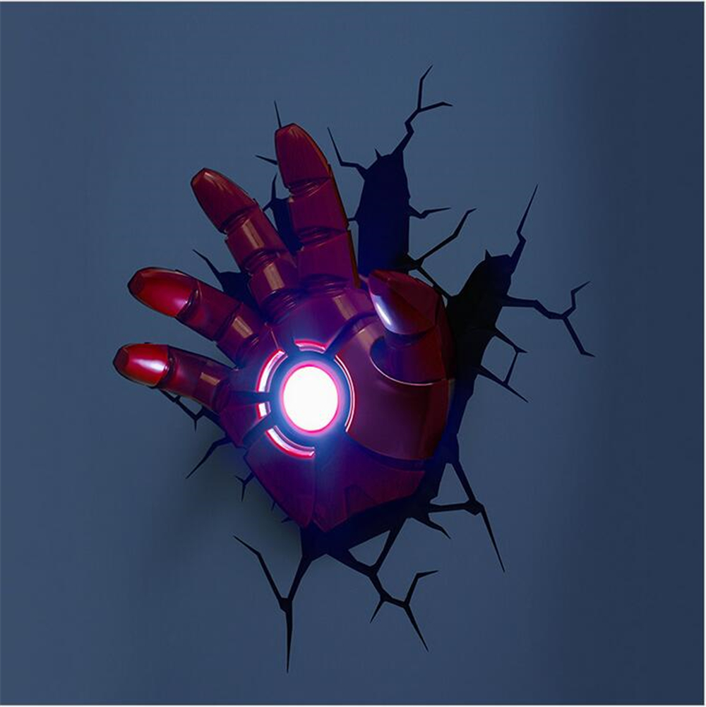 Popular 3d Iron Man Light-Buy Cheap 3d Iron Man Light lots from China 3d Iron Man Light ...
