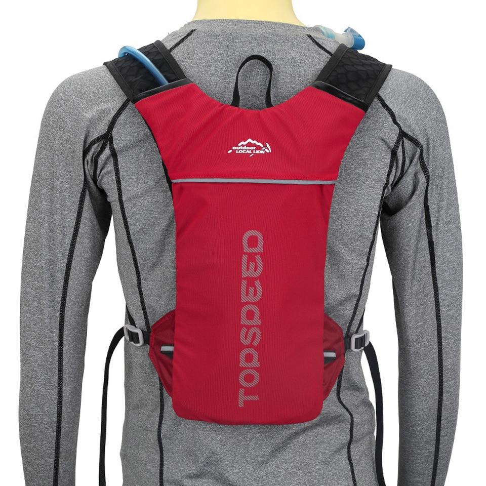 LOCAL LION Running Bag Bicycle Backpack Cycling Run Bag Rucksack Hydration Men Sport Bags Light Waterproof Riding Bike Back Pack 1