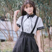 Роза вышивка съемный Лолита платье комбинезон+ белая рубашка kawaii Девушка комплекты для Лолиты консервативный стиль викторианская готика Лолита loli