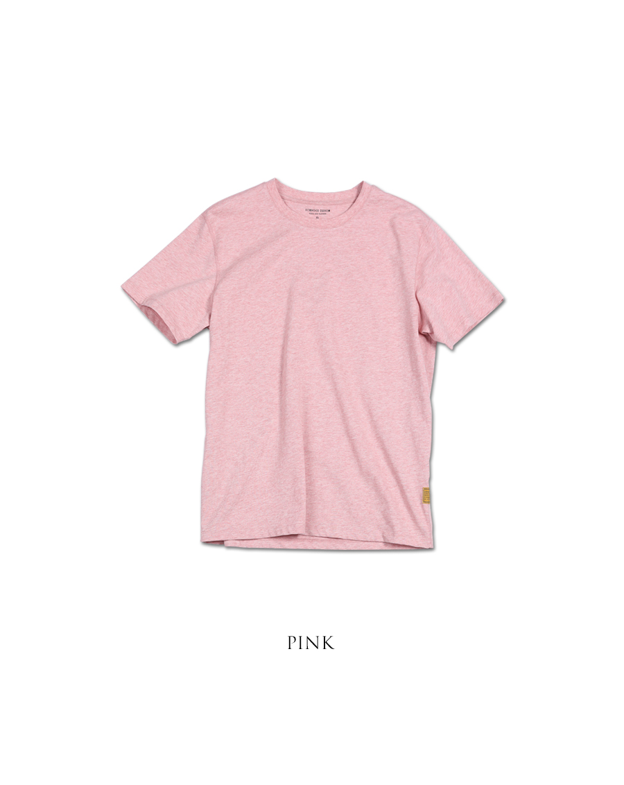 SIMWOOD 2019 summer new 100% colored cotton t shirt men crew neck short sleeve t-shirt casual high quality tees tops 190116