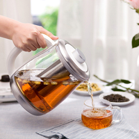 1.8L Fully Automatic Health Pot Electric Kettle Teapot Thicken Glass Bird's Nest Stew Household Multifunction