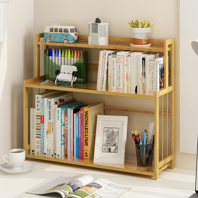 Storage Rack Bookrack Sample House On The Table Bookrack Administration Office Commodity Shelf   Phyllostachys Pubescens