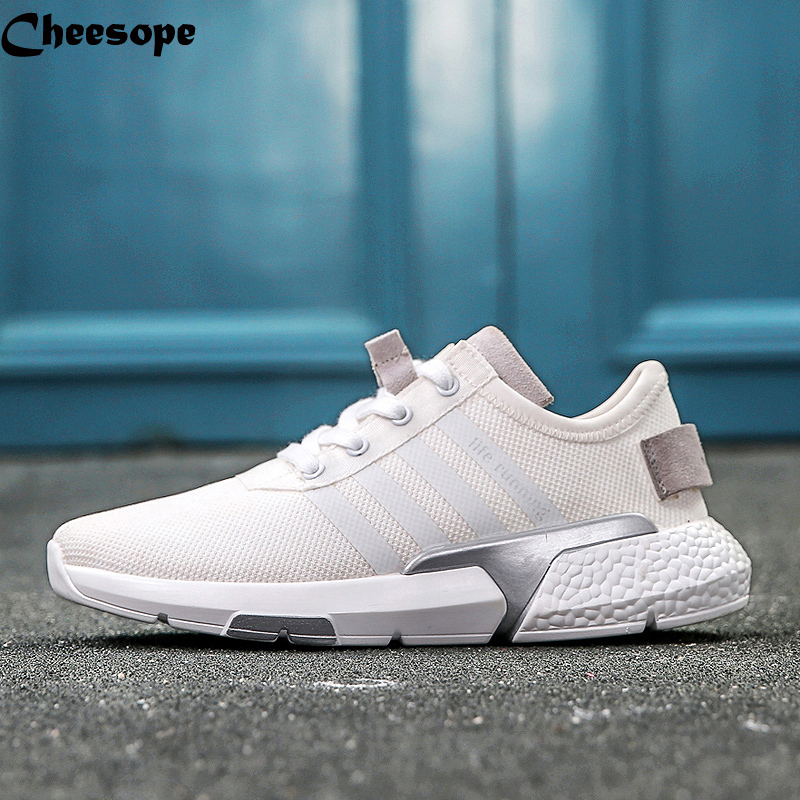 Brand Summer Men Sneakers Air Breathable Mesh Men Male Casual Shoes Lace Up Adida  Shoes Boys Super Light Derby Shoes Men-in Men s Casual Shoes from Shoes on  ... e844e3535
