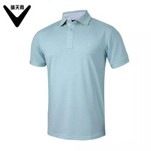 Men's Golf polo shirt summer Breathable Quick Dry lapel short-sleeved solid color Golf Shirts high-quality men golf Sportswear