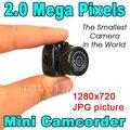 Caliente Cmos Super Mini Cámara de Vídeo Más Pequeña Y2000 Ultra Pequeño bolsillo 720*480 JPG Web Cam DV DVR Registrador de La Videocámara 720 P foto