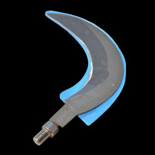 цена на Garden Tools Sickle Portable Small Steel Sickle Knife Head Mowing Aquatic Plants Cutting Weed Agriculture Tools Grass Sickle