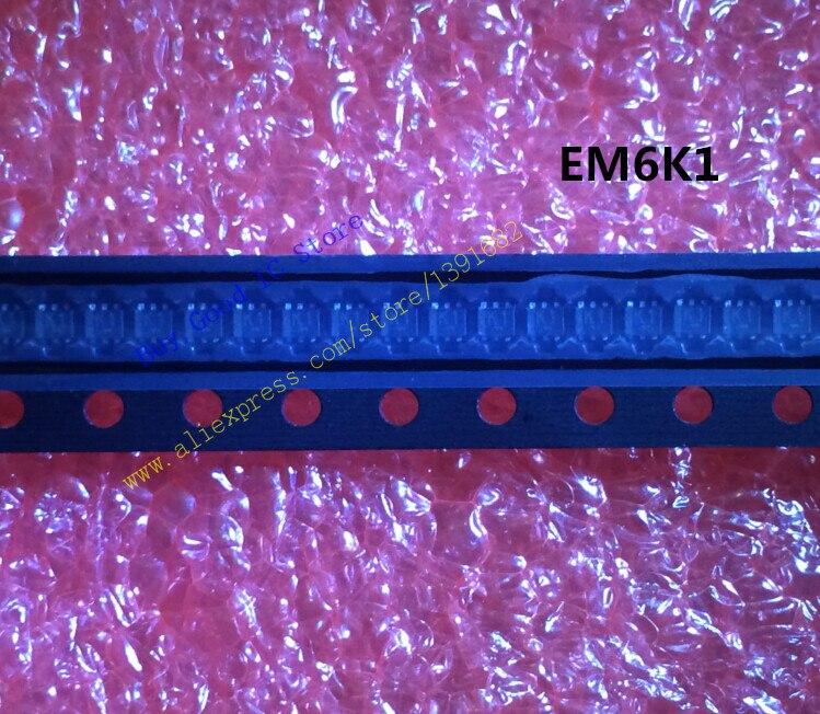 EM6K1T2R EM6K1 T2R 2N CH 30В. 1а EMT6 SOT 563 50 шт./лот Бесплатная доставка|lot|lot lot |