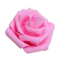 PHFU wholesale 5PCS 100PCS Foam Rose Flower Bud Wedding Party Decorations Artificial Flower Diy Craft Pink