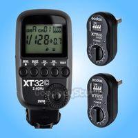 Godox xt32c 2.4g sem fio 1/8000 s alta velocidade de sincronização do flash gatilho para canon + 2 pcs xtr 16 receptor|trigger for canon|flash trigger for canon|flash trigger -