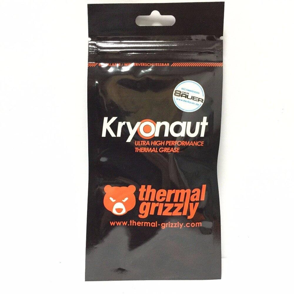 Thermische Grizzly Kryonaut 1G 11CPU AMD Intel prozessor Kühlkörper fan Thermische verbindung Kühlung Thermische paste Kühler Thermische Fett