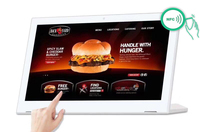 13.3 inch Android touch screen all in one desktop PC (octa core, 1GB DDR3, 8GB nand, RJ45, wifi, Bluetooth, IPS screen)