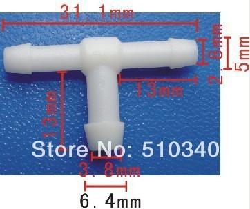 Frete grátis 100 pcs acessórios do carro cabide carro T tubo de Ligação