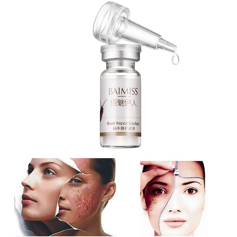 Snail Repairing Liquid Essence Facial Treatment Whitening Moisturizing Removes Acne Skin Repair Hyaluronic Acid Multi-effect