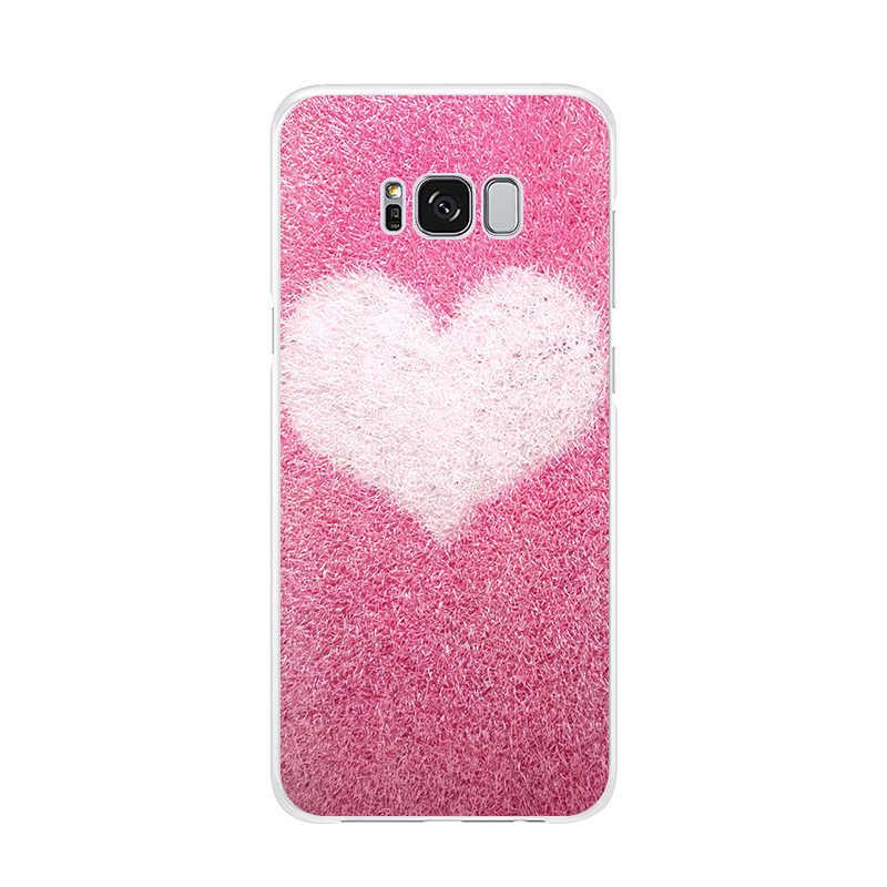 Funda de teléfono de TPU suave linda del brillo del oro rosa verde para Samsung Galaxy S10 S10plus S10lite S9 S9plus Note9 Note8 S8 s8Plus S7 Edge 6
