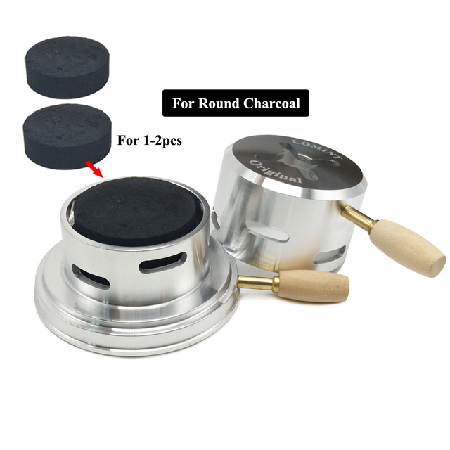 LOMINT Original Shisha Hookah Charcoal Holder Narguile Heat Keeper Heat Management Device Chicha Clay Accessories Dropshipping