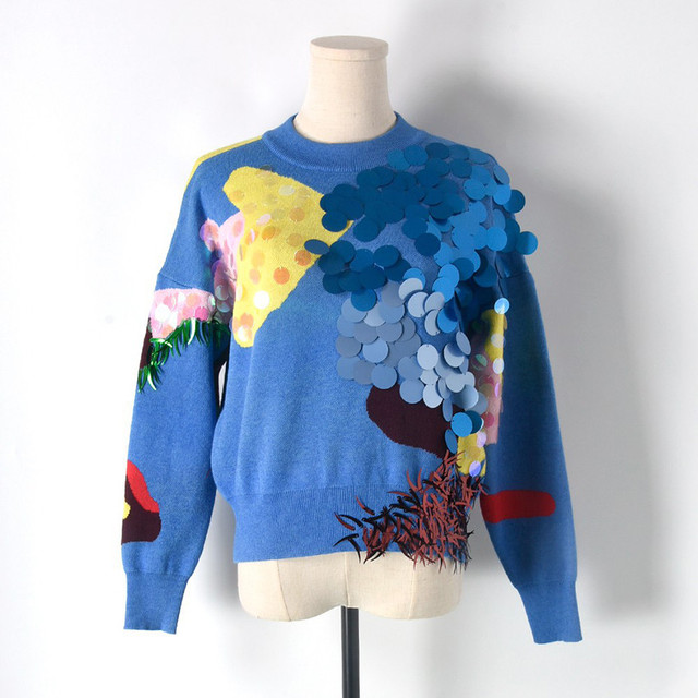 Crop Tops Women Sweaters And Pullovers 1