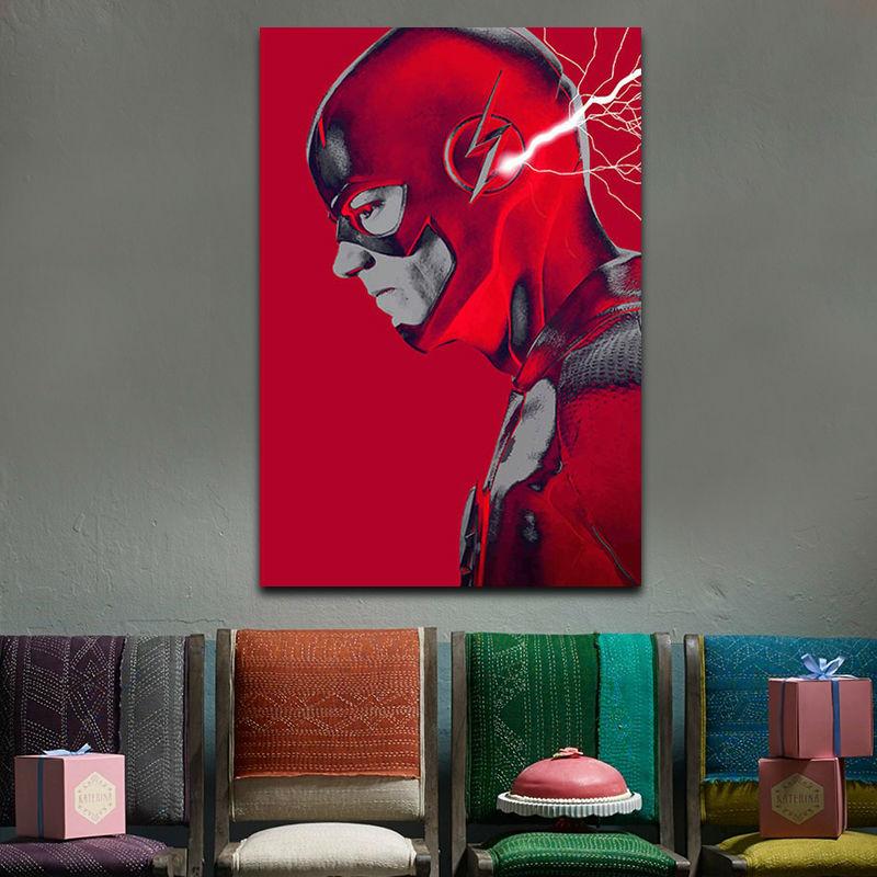 diy digital painting Flash man