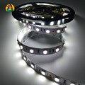 Não-waterprpof 5 M 12 V 5050 LEVOU Luz de Tira Da Lâmpada Fita 60 LEDs/M IP20 única Cor LEVOU Tiras 200 leds por Rolo para Casa e Carro