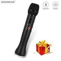 Professional Karaoke Microphone Wireless Speaker Portable Bluetooth microphone for phone iphone Handheld condenser mic XIAOKOA