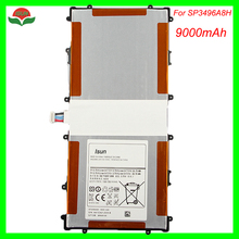 2pcs/lot SP3496A8H Original Quality Battery For Samsung Google Nexus 10 GT-P8110 HA32ARB Autentico Tablet Batteria 9000 mAh