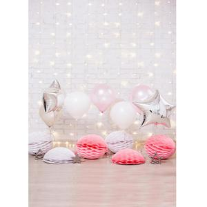 Image 2 - Balony ściana z cegły fotograficzne tła tkanina winylowa zdjęcie strzelaniny tło dla dziecka urodziny dzieci zdjęcie z imprezy Studio