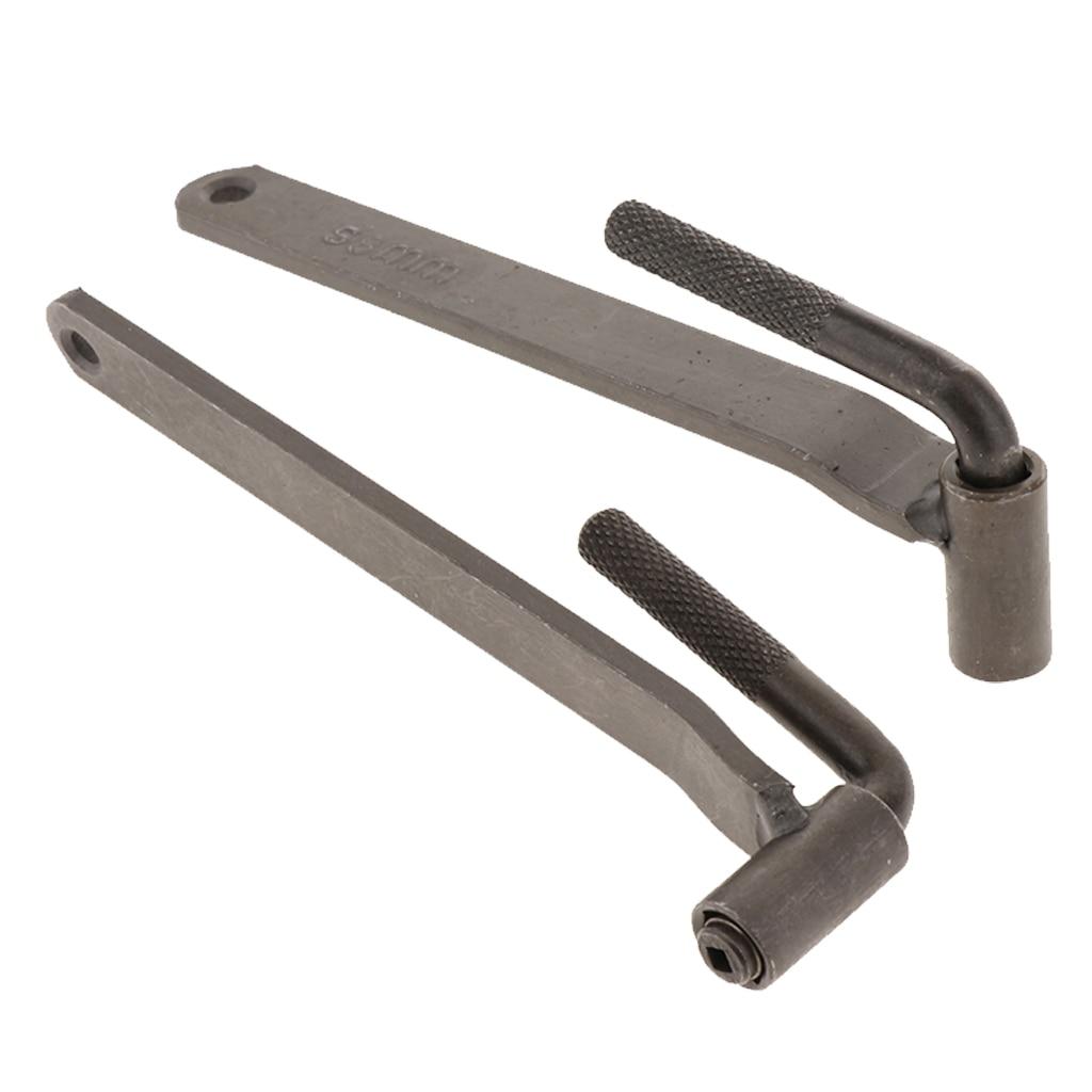 2Pcs 8mm / 9mm Metal Motorcycle Engine Valve Screw Adjustment Tool Valve Screw Wrench Car Repair Tool 3.0mm/3.1mm