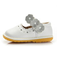 Top Quality Micro-PU Leather Toddler Moccasins Baby Girls Princess Shoes Dinosaur White Black 8sizes