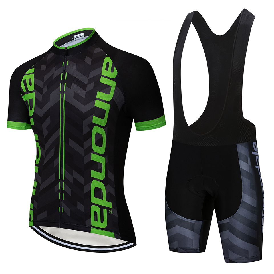 2019 Cycling Clothing Bike Jersey Quick Dry Mens Bicycle Clothes Summer Quick Step Team Cycling Jerseys Gel Bike Shorts Set