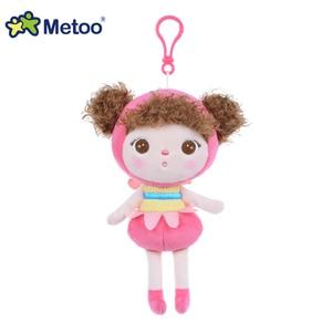 Image 3 - Kawaii Stuffed Plush Animals Cute Backpack Pendant Baby Kids Toys for Girls Birthday Christmas Keppel Doll Panda Metoo Doll
