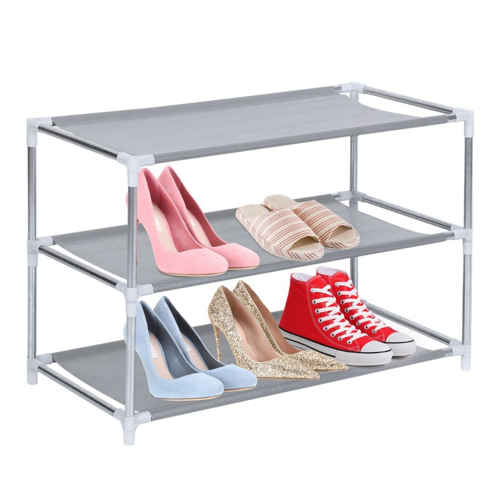 Metal Shoes Rack 3/4/5/6/7/10 Layer Shoes Stand Removable Dust-Shelves Storage Organizer Fabric Shelf Holder Stackable ClosetMetal Shoes Rack 3/4/5/6/7/10 Layer Shoes Stand Removable Dust-Shelves Storage Organizer Fabric Shelf Holder Stackable Closet