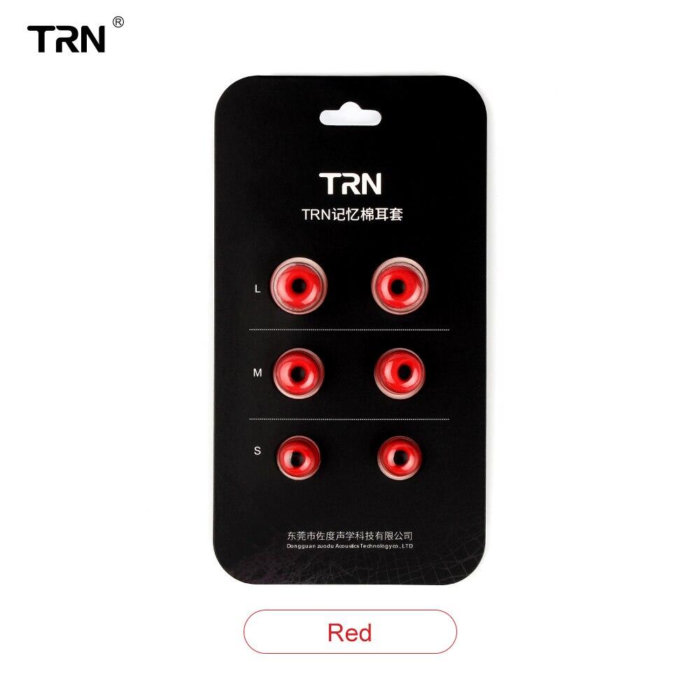 NICEHCK TRN 1 Set(6pcs) L/M/S 4.5mm TRN Noise Isolating Memory Foam Ear Tips Ear Foam Eartips For In Ear Earphone Earbud Headset