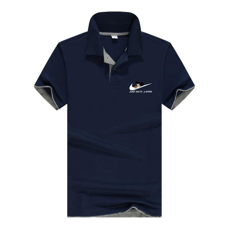 Business   Polo   Shirt Men Wukong Dragon Ball Brand Clothing Male Print   Polo   Shirt Casual   Polo   Tee Shirt Tops Aeronautica Militare