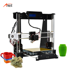 Anet A8 Single Color Prusa i3 DIY Printer Kit LCD2004 Monitor Screen 8GB SD Card as Gift Impressora 3d Compatible Various OS